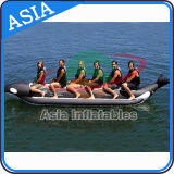 Exciting PVC Fly Fishing Boats Banana for 6 Person