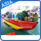6 Person Inflatable Banana Boat, Inflatable Towable Tube