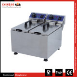Commercial Twin Deep Fryer Electric Tank Dzl-062b
