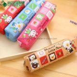 Customized Cheap Promotion Polyester Zipper Kids Children Pencil Bag