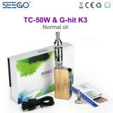 2017 New Arrivals Seego Mod Electric Cigarette with Beautiful Metal Tube Atomizer