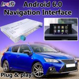 Android 6.0 Lexus CT200h Multimedia Video Interface, Car GPS Navigation