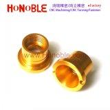 Gold Anodizing Aluminum CNC Milling Sleeve