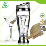 450ml BPA Free Stainless Steel Electric Shaker Bottle