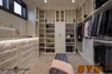White and Gray Closet with Hidden Drop Down Ironing Board (BY-W-66)