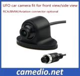 360 Degree Rotatable Front Camera Universal UFO Car Rear View Mirror Camera
