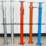 Construction Scaffolding Support System Heavy Duty Adjustable Steel Shoring/Shoring Prop