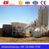 High Quality Mobile Concrete Mixing Batching Station for Sale (YHZS40)