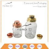 Copper, Brass Color Metal Strainer Lid for Mason Jar