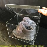 Clear Acrylic Sneaker Shoes Container Case