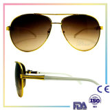 2016 High Quality Handmade Round Sunglasses Metal Combination/Metal Sunglasses