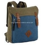 Canvas Leisure Double Shoulder School Laptop Backpack Pack Bag (CY8965)