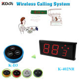 Service Equipment Guest Call Waiter System for Restaurant, Cafe