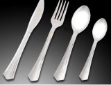 Disposable Silver Coated Cutlery Hot Selling