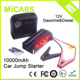 Mini 12V Diesel Car Jump Starter Bank Certificated OEM Battery Booster Portable Strong Power Bank