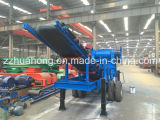 Hahong Special Designed Mobile Crushing Station with Large Capacity