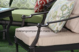 New Design Single Person Sofa Cast Aluminum Furniture