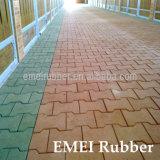 En1177 Dogbone Rubber Tiles for Driveway