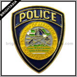 Professional Quality Metal Police Badge for Custom Made (BYH-10061)