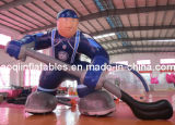 Giant Inflatable Model Hockeyball Advertising Hockey Player Model for Sale (AQ54291)