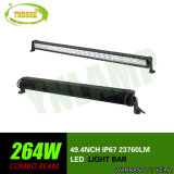 CREE 264W 50inch Straight Hybrid Row LED Combo Beam Light Bar