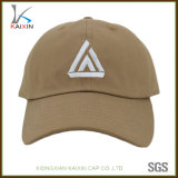 Custom Khaki 3D Embroidery Cheap Custom Cowboy Baseball Hat