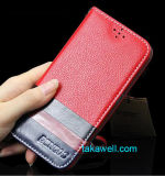 Folio Genuine Leather Flip Case for iPhone/Apple/Samsung Optional