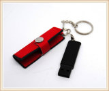 2017 New Model Red PU USB Flash Drive