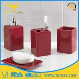 Fashion Design 4PCS Ceramic Modern Bath Set Bathroom Accessory