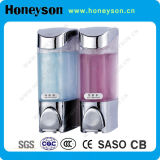 Hotel Wall Mounted Chrome-Plating Hand Liquid Soap Dispenser