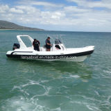 Liya 7.5m Hypalon Inflatable Rib Boat Military Rib Boat for Sale