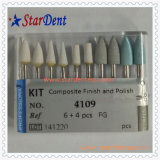 Rubber Composite Finish and Polishing Kit of Dental Material