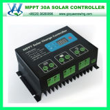 30A MPPT 12/24V Solar Charge Controller for Solar System (QW-MT30A)