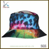 Custom Screen Printing Women Tie Dye Cotton Bucket Hat