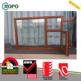 PVC Double Glazed Wooden Color Window