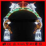 Holiday Decor Zoo Christmas Decoration Animal Archdoor Light