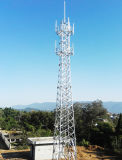 Self Supporting Galvanized Angle Steel Lattice Tower