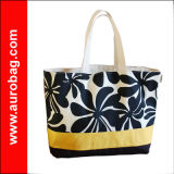 Fshion Waterproof Tote Promotional Beach Bag 2013 with Zipper