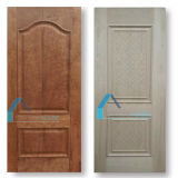 Raised/Conver Line Molding Natural Red Oak HDF Door Panel