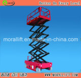 Self Travel Scissor Lift Hoist Platform Mechaniam