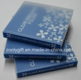 Custom Printing Clear Plastic PP PVC Bookmark Holder / Album Book