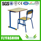 Cheap School Furniture Single Student Desk and Chair (SF-28S)