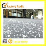 White Flecks EPDM Rubber Flooring Rolls for Fitness Sports Court