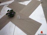Grey Wooden Vein Stone Marble Floor Tile for Living Room