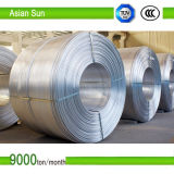High Purity 9.5mm IEC Approved, Aluminum Rod with ISO14001 Certification