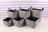 S/6 Laundry Basket