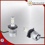 S2 43W 8000lm Hi/Low Beam LED Car Headlight for Car, COB Chip, IP68, Ce