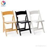 Outdoor Garden Furniture White Wedding Wood Plastic Resin Folding Chair