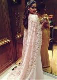 Two Pieces Champagne Elegant Women Evening Dresses