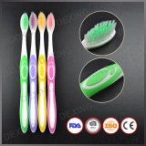 Popular Soft PBT Bristle Adult Toothbrush with FDA Certificate Approved